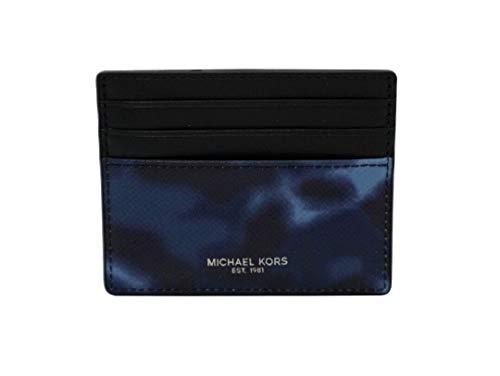 Michael Kors Warren & Kent Sports Mens Leather Holder Wallet Tall Card Case