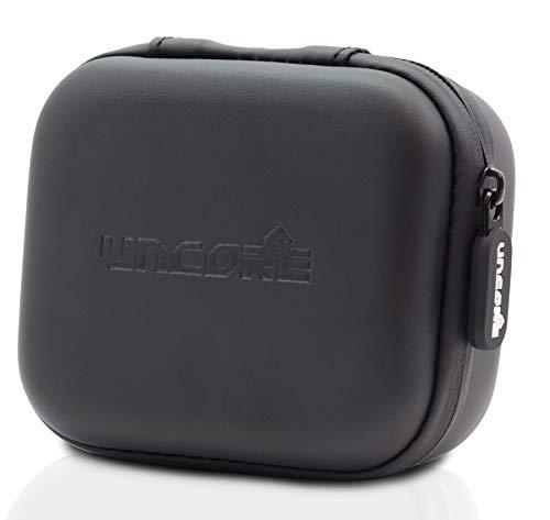 Jtl-flash (Hardcase Eva Aufbewahrungsbox - Schutztasche stoßfest | wasserfest - perfekt geeignet für USB Kabel, USB Stick, Speicherkarten, JTL Speaker, Elektronikzubehör,in schwarz von Uncorex)
