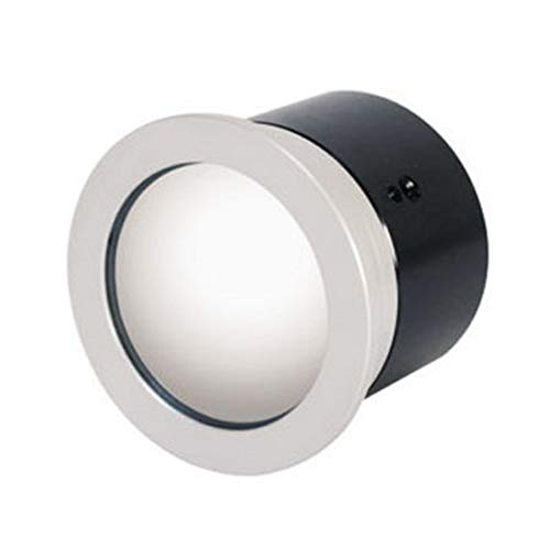 """Cámara Color CCD 1/3"""" SONY SUPER HAD, oculta en espejo para encastrar. Diámetro 58mm. Resolución 420 líneas, lente 3,6 mm."""