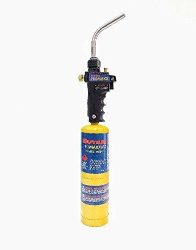 Expédié 24h Chalumeau à gaz cartouche Piezo candileja inclus Charge à cartouche 400gr Kit