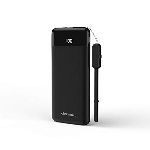 Charmast® Batería Externa10400mAh Power Delivery Cargador Externo de Carga Rápida QC3.0 Power Bank USB Tipo C con LED Digital Display para iPhone X/XS/8/7/6,iPad,New iPad Pro,Huawei,Samsung y Tablet