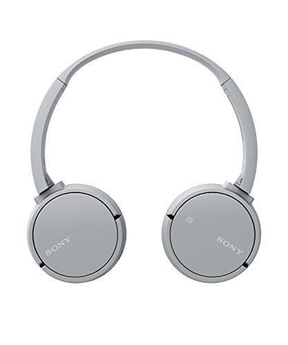 Sony WH-CH500 kabelloser Bluetooth Kopfhörer (Bis zu 20 Stunden Akkulaufzeit, Freisprechfunktion, NFC, schwenkbares Design) grau - 3