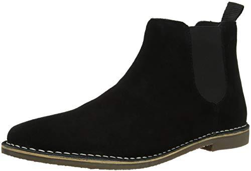 Red Tape Herren Arizona Chelsea Boots, (Black Suede 000), 41 EU