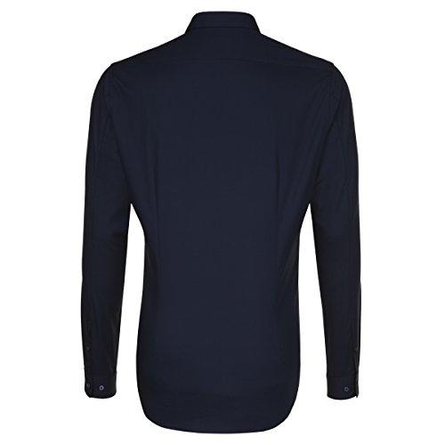 Seidensticker -  Camicia classiche  - Basic - Classico  - Uomo blau (0019)