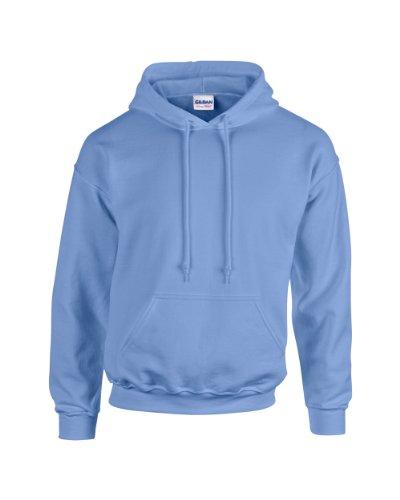 Gildan Heavy Blend Erwachsenen Kapuzen-Sweatshirt 18500 Carolina Blue S (Sweatshirt Blau Carolina Kapuze)