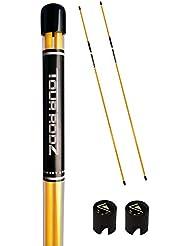 Longridge Golf Practice Aid Tour Rodz Alignment Sticks