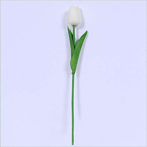 Nelke Heiße Schokolade (hahashop2 Hochzeit Gefälschte Blume Mini Tulpe Künstliche Blume Wohnzimmer Topfblumengesteck für Romantische Atmosphäre Valentinstag und Party Dekoration)