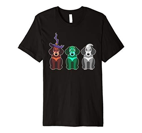 Dackel Halloween Kostüm T-Shirt