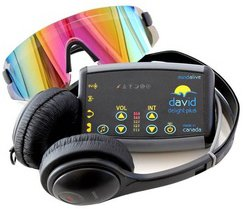 DAVID Delight Plus | Light and Sound Device | MInd Alive's best value for money Mind Machine | Used for Brain Training and Relaxation.