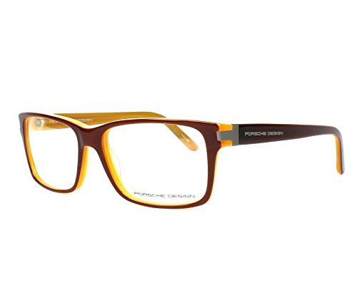 Porsche Design - P8249, Wayfarer, Acetat, Herrenbrillen, BROWN HONEY(C AH), 54/15/135