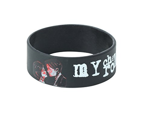 My Chemical Romance Armband three Cheers Schwarz parade offiziell Schwarz rubber (My Chemical Parade)