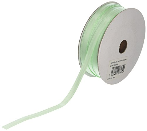 Club Green mit Satinband, Mint, 6 mm x 25 m Band Mint -