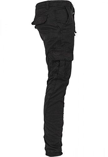 Urban Classics Cargo Jogging Pants, Pantalon Homme, Gris, XX-Large Black