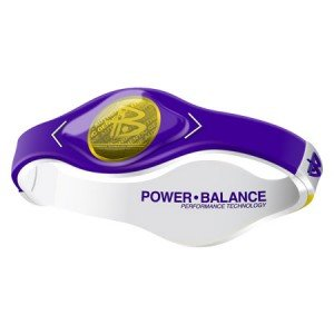 Power Balance - Game Day - Purple/Yellow - M