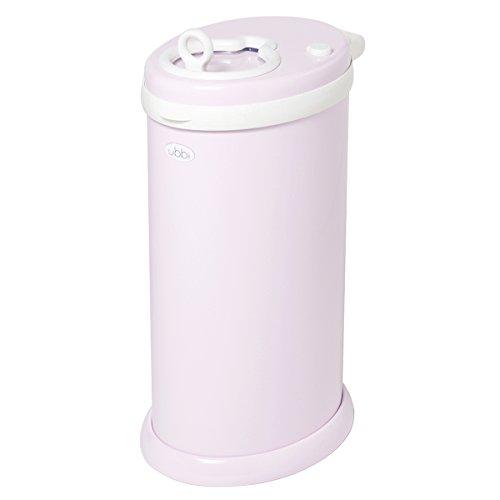 Ubbi Diaper Pail/pattumiera per pannolini (rosa chiaro)