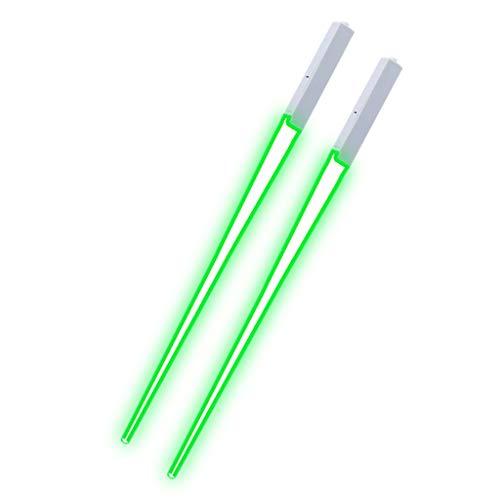 MAYOGO leuchtende LED Stäbchen Lichtschwert Essstäbchen, Langlebig, Leicht, Tragbar,...