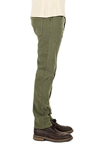 Merca Jeans Flamingo Vd, Jean Slim Homme Vert