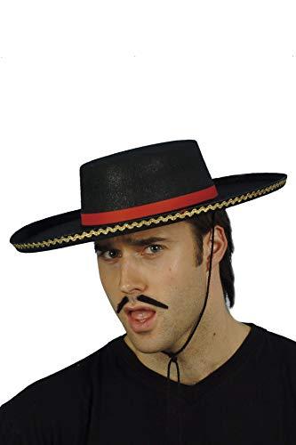 Smiffys Chapeau espagnol, avec corde