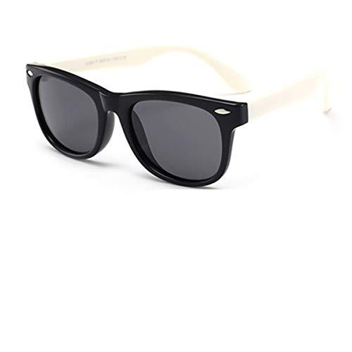 FGRYGF-eyewear Sport-Sonnenbrillen, Vintage Sonnenbrillen, NEW Silicone Children's Polarizing Sunglasses Square Boys And Girls'glasses UV400 Soft Safety Sunglasses QMC7