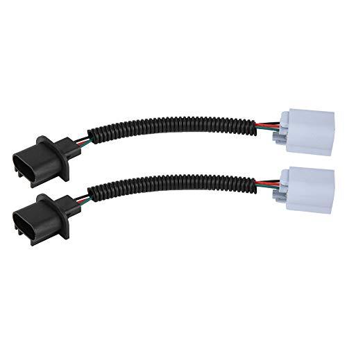 Duokon 1 Paar H13 9008 Stecker Decoder Verlängerungskabel für Fern- / Abblendlichtscheinwerfer (9008 H13-stecker)