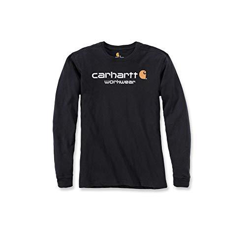 Carhartt Core Logo Shirt 102564, Schwarz, XS