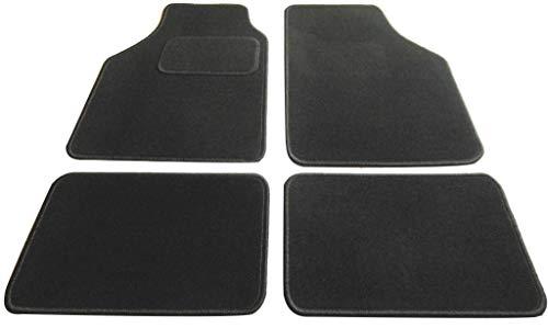Textile-Deluxe 29030-JAVA-SCHWARZ Rio 07/00-08/05 4 Tapis, Velours Noir
