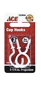"""HOOK CUP 1-1 / 4""""P WHT CD3 by Ace"""