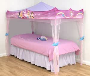 bellissima tenda dei sogni per letto principesse disney. Black Bedroom Furniture Sets. Home Design Ideas