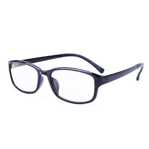 Blu-ray Glasses,Beobachten Sie Mobile Brillen,Entlastung der Augen vor Müdigkeit,Computer Lesen Eyewear,Blu-ray Flat Brille TR90 + Schwarze Materialqualität,Glasses Anti Blue Light tv-C-5