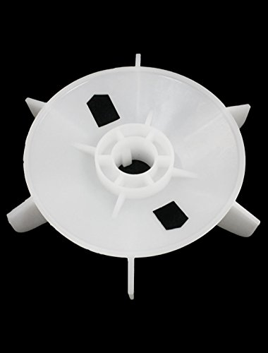 Y80-4.6 19mm Shaft Hole Dia Plastic Cooling Fan for 0.75KW Motor