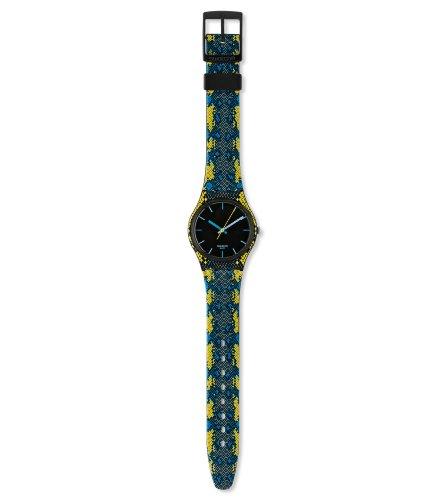 Swatch Snaky Bjue GB254 - Reloj de mujer de cuarzo, correa de goma color varios colores