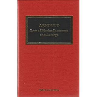 Arnould Law of Marine Insurance (Shipping)
