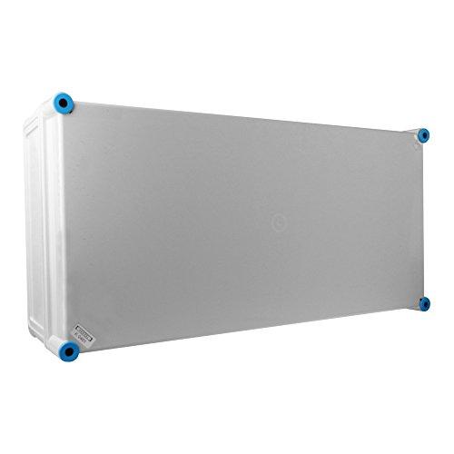Leergehäuse mit graue Deckel Anschlussdose 600x300x170 IP65 Industriegehäuse Abzweigdose K0401 HENSEL 6585