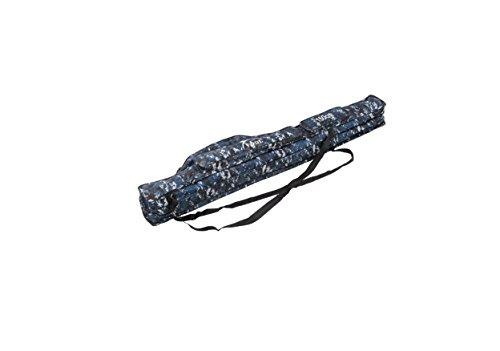 1,5m Tragbarer 2Schicht Angeln Taschen zusammenklappbar Angelrute Tasche Angeln Tackle Werkzeuge Aufbewahrungstasche