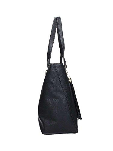 LIU JO MIMOSA SHOPPING BAG M A17098E0031 schwarz, schwarz