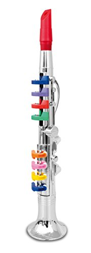 Bontempi-32-4431-8-Note-Silver-Clarinet-42cm