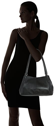 TamarisAMAL Shoulder Bag - Borse a Tracolla Donna Nero (Nero (Black 001))