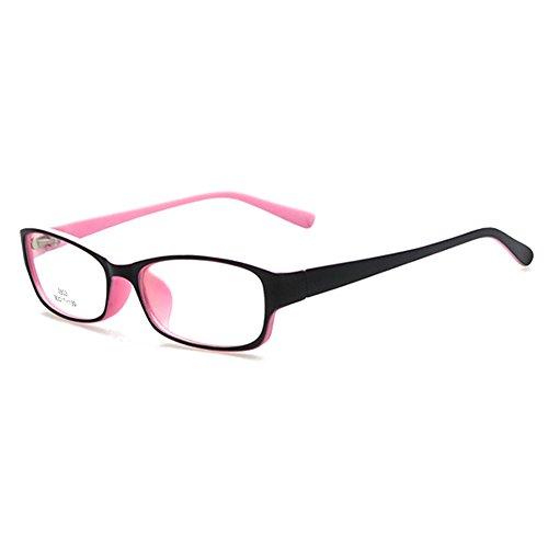 Kinder Gläser Rahmen - Kinder Brillen Clear Lens Retro Reading Eyewear für Mädchen Jungen - Juleya #112207
