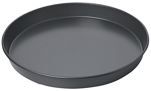 Kitchen Craft Chicago Metallic Professional Antihaft deep-Dish Pizza Pan, grau, 37 x 4 cm Pizza Baking Pan