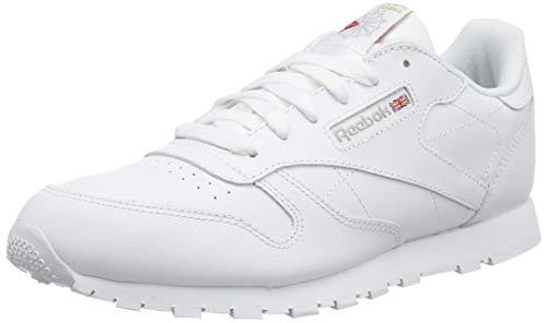 Reebok Classic Leather, Zapatillas de Running Niños, Blanco White, 38 EU