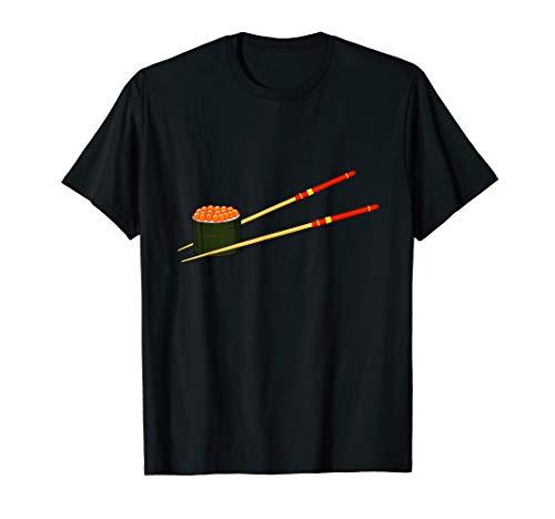 Lachs Reh Kaviar Fischeier Sushi T-Shirt