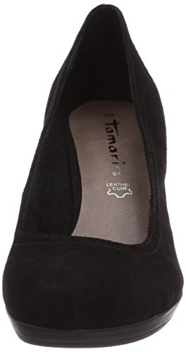 Tamaris 22410 Damen Pumps Schwarz (Black Suede 004)