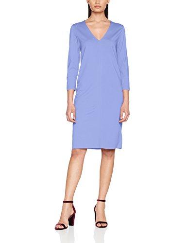 Marc O'Polo Damen Kleid 801309359045, Blau (Late Lilac 824), 36