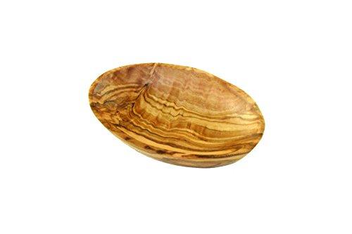 D.O.M.-Cuenco ovalado (Madera de Olivo, 9cm