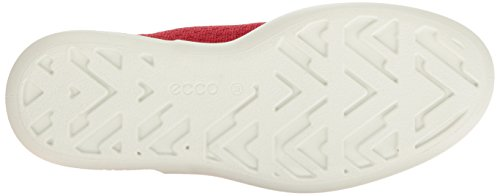 Ecco Ecco Soft 3, Sneakers basses femme Rouge (CHILI RED/CHILI RED55183)