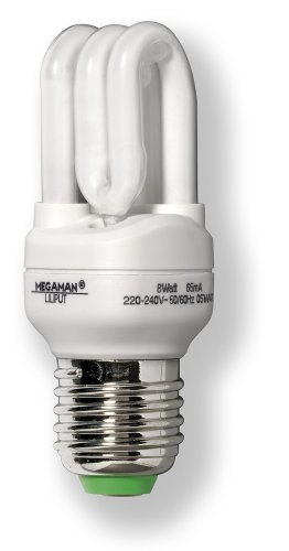 Megaman 570107 ESL LILIPUT Energiesparlampe 8W E27 230V 827 -