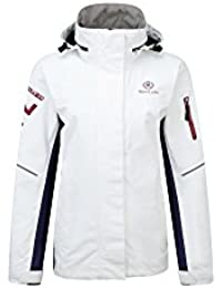 2016 Henri Lloyd Ladies Sail Jacket Optic White Y00357