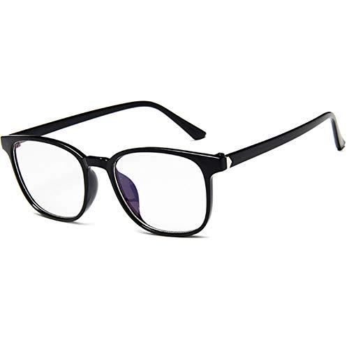 YUNCAT Klassische Großer Übergroßer Rahmen Hornbrille Klare Gläser Brille