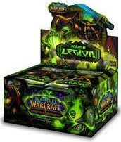 World of Warcraft TCG: March of the Legion Booster Box (24 Packs) [Toy] [Toy]