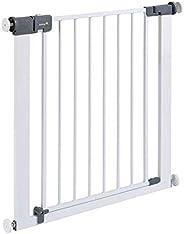 Safety 1st - Rejilla para Escaleras, Cierre Rápido, Extraseguro, Rejilla Metálica para Sujeción, 73-80 cm, Pos